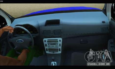Ford Ranger P.B.A 2015 Text2 para GTA San Andreas vista direita