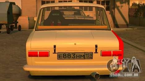VAZ 2101 para GTA 4 vista direita
