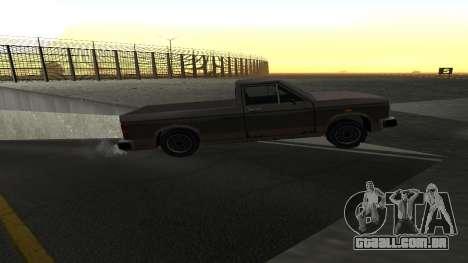 Nova física de máquinas para GTA San Andreas quinto tela