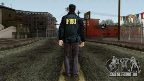 Police Skin 3 para GTA San Andreas segunda tela