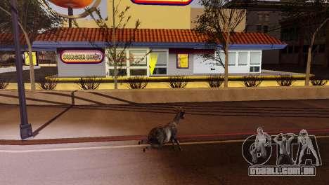 A possibilidade de GTA V para jogar com os anima para GTA San Andreas décima primeira imagem de tela