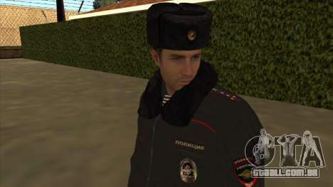 A polícia da Rússia - inverno formulário para GTA San Andreas sétima tela
