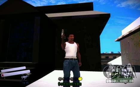 C-HUD v4.0 para GTA San Andreas terceira tela