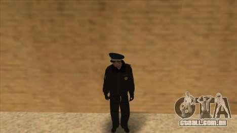 A polícia da Rússia - inverno formulário para GTA San Andreas décima primeira imagem de tela