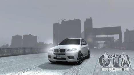 BMW X5M 2011 para GTA 4 vista direita
