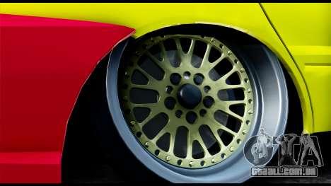 Mitsubishi Lancer Evo 9 para GTA San Andreas traseira esquerda vista