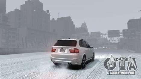 BMW X5M 2011 para GTA 4 esquerda vista