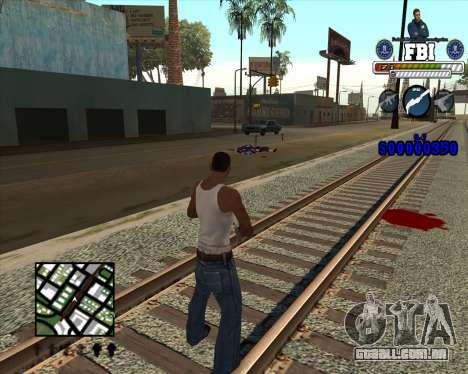 C-HUD for FBI para GTA San Andreas