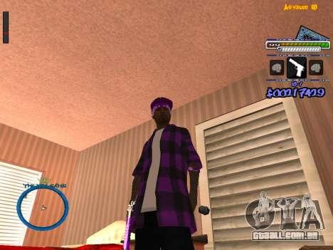 C-HUD by Rifa para GTA San Andreas segunda tela