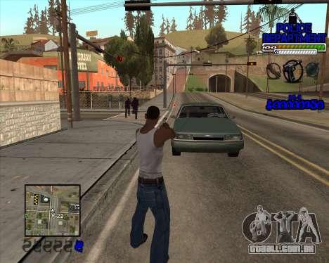 PD HUD para GTA San Andreas segunda tela