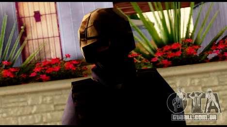 Counter Strike Skin 5 para GTA San Andreas terceira tela