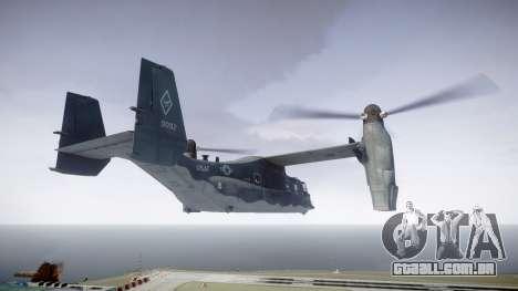 Bell CV-22 Osprey [EPM] para GTA 4 esquerda vista