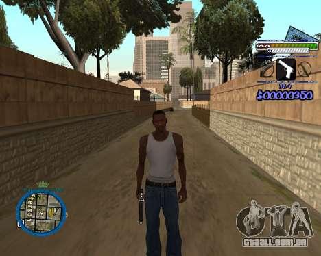 C-HUD by Rifa para GTA San Andreas terceira tela