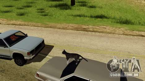 A possibilidade de GTA V para jogar com os anima para GTA San Andreas quinto tela