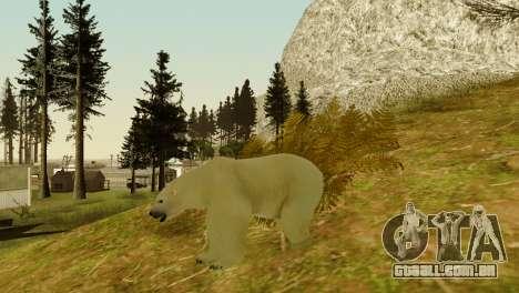 A possibilidade de GTA V para jogar com os anima para GTA San Andreas oitavo tela