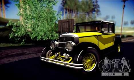 Albany Roosevelt (GTA V) para vista lateral GTA San Andreas