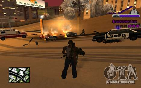 С-HUD do Gueto para GTA San Andreas