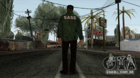 Police Skin 2 para GTA San Andreas segunda tela