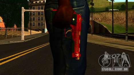 Natal Arma para GTA San Andreas terceira tela
