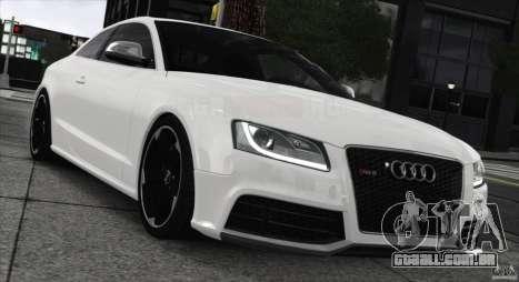 Audi RS5 2011 para GTA 4 traseira esquerda vista