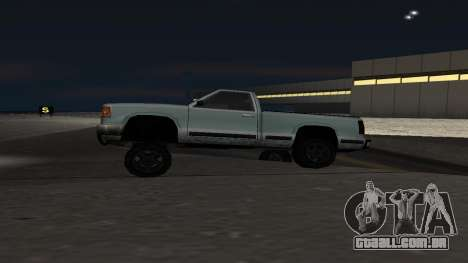 Nova física de máquinas para GTA San Andreas segunda tela