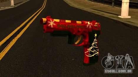 Natal Arma para GTA San Andreas