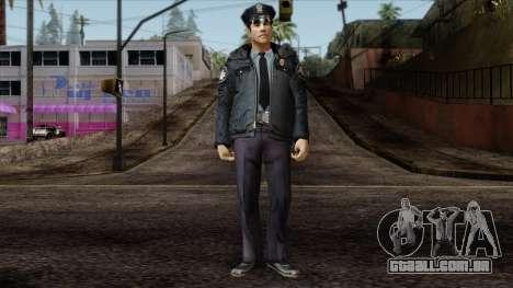 Police Skin 6 para GTA San Andreas