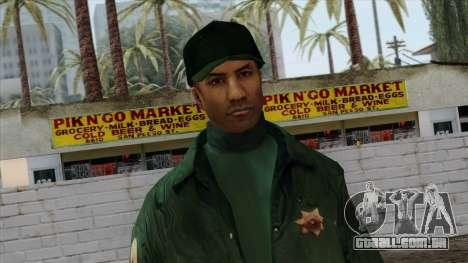Police Skin 2 para GTA San Andreas terceira tela