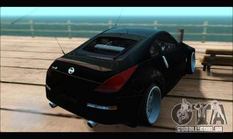 Nissan 350Z Rock para GTA San Andreas esquerda vista