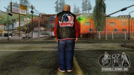 GTA 4 Skin 69 para GTA San Andreas segunda tela