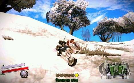 C-HUD v4.0 para GTA San Andreas segunda tela