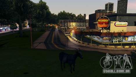 A possibilidade de GTA V para jogar com os anima para GTA San Andreas décimo tela