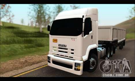 ISUZU FXZ 360 Thailand para GTA San Andreas
