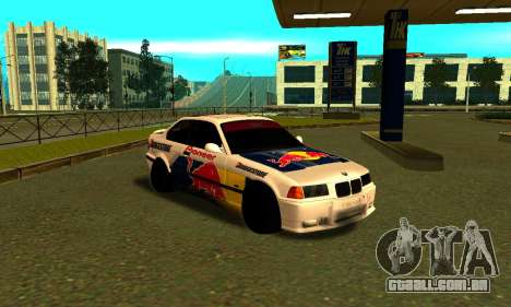 BMW M3 E36 RedBull para GTA San Andreas