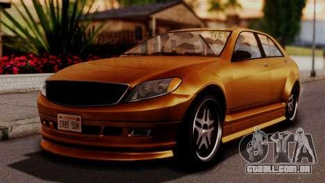 GTA 5 Schafter para GTA San Andreas
