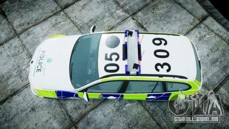 BMW 3 Series Touring E91 [ELS] para GTA 4 vista direita