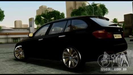 BMW 3 Touring F31 2013 1.0 para GTA San Andreas esquerda vista