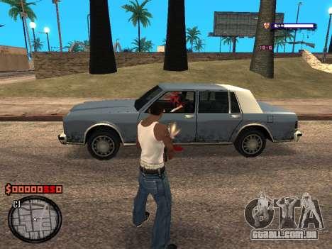 C-HUD Style para GTA San Andreas terceira tela