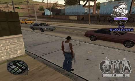 C-HUD Skillet para GTA San Andreas terceira tela