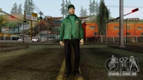 Police Skin 1 para GTA San Andreas