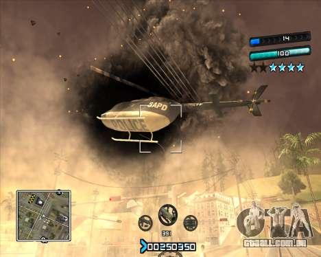 C-HUD Super Cull para GTA San Andreas terceira tela