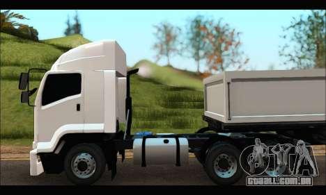 ISUZU FXZ 360 Thailand para GTA San Andreas traseira esquerda vista