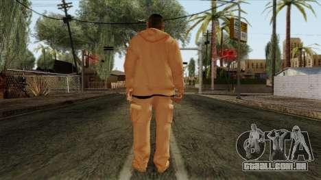 GTA 4 Skin 30 para GTA San Andreas segunda tela
