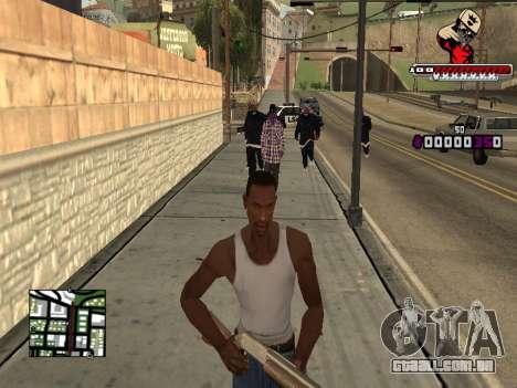 C-HUD SWAG para GTA San Andreas terceira tela