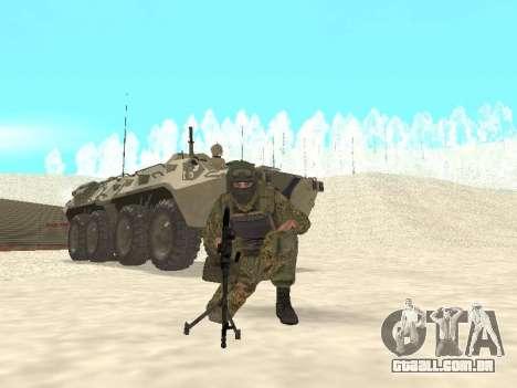 Spetsnaz MVD para GTA San Andreas terceira tela