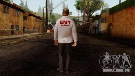 Doctor Skin 2 para GTA San Andreas segunda tela