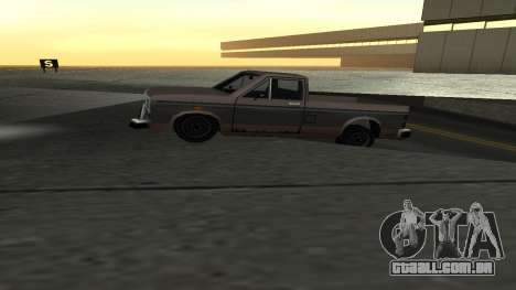 Nova física de máquinas para GTA San Andreas por diante tela