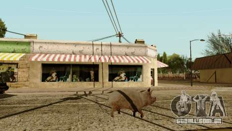 A possibilidade de GTA V para jogar com os anima para GTA San Andreas sétima tela