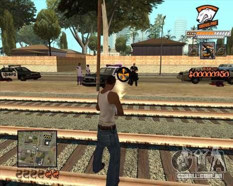 C-HUD Virtus Pro para GTA San Andreas segunda tela