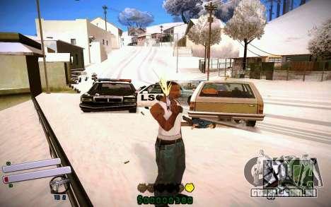 C-HUD v4.0 para GTA San Andreas por diante tela